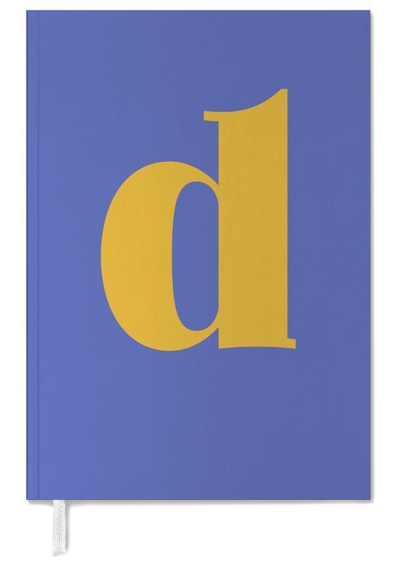 Blue Letter D -Terminplaner