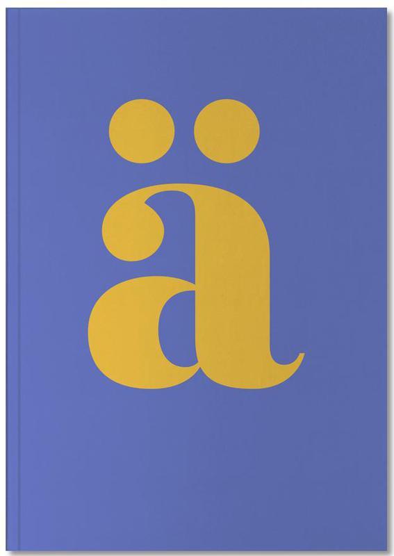 Blue Letter ä Notebook