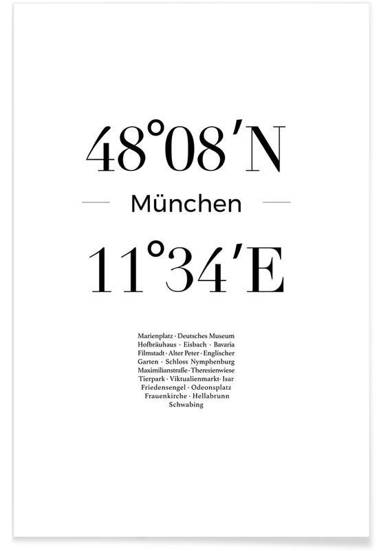 München affiche