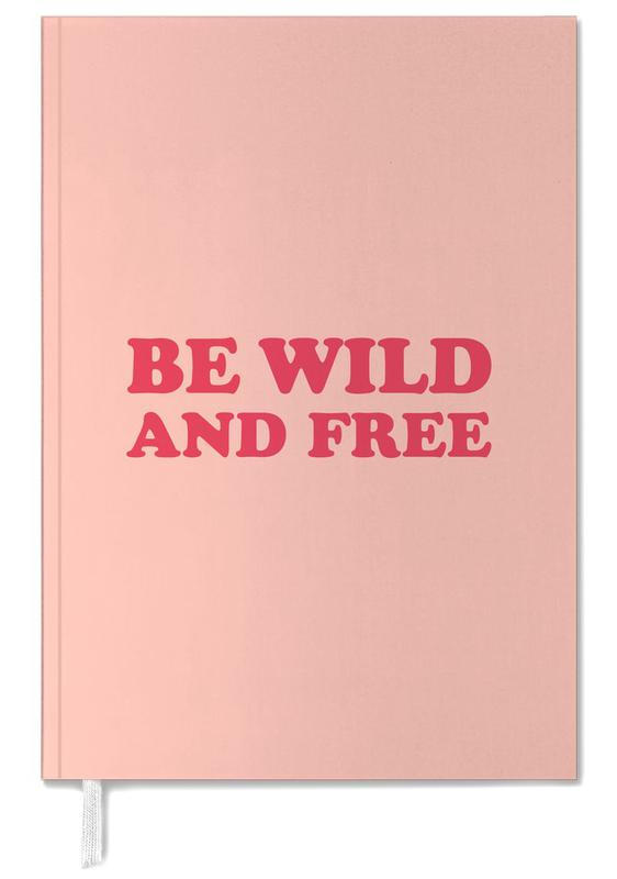 Be Wild and Free - Pink -Terminplaner