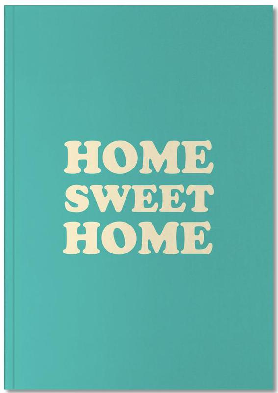 Home Sweet Home - Mint Notebook