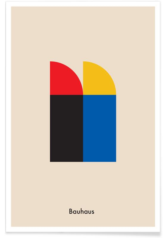 Bauhaus Archive, Berlin Icons Poster