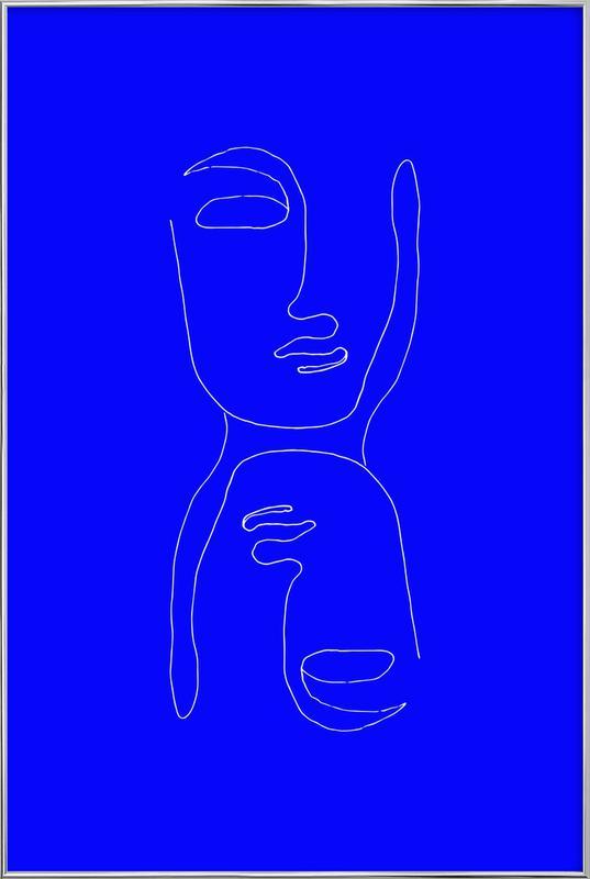 Entity by Daniella Salamon Poster in Aluminium Frame