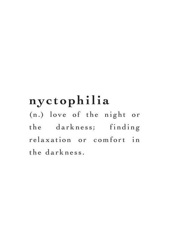 Nyctophilia Aluminium Print
