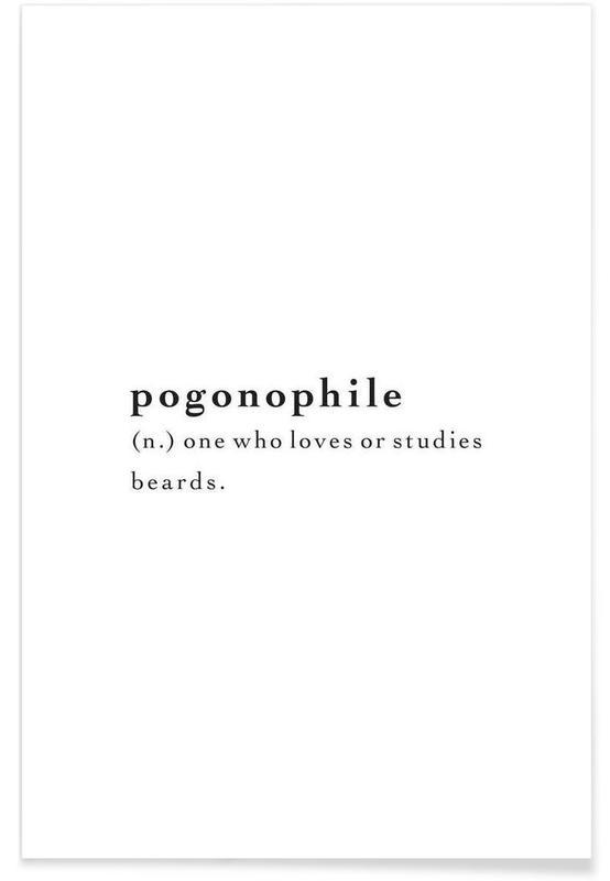 Pogonophile póster