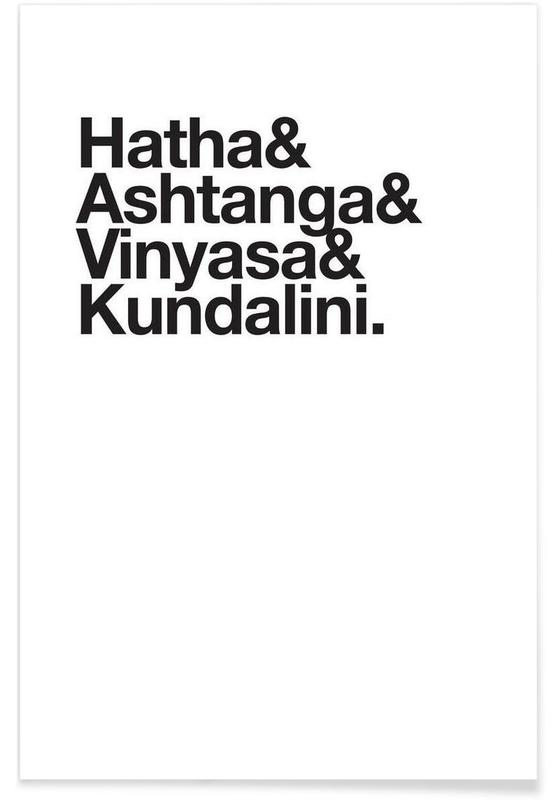 Yoga póster