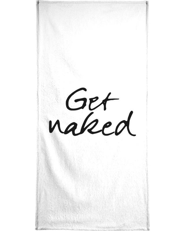 Get Naked serviette de bain