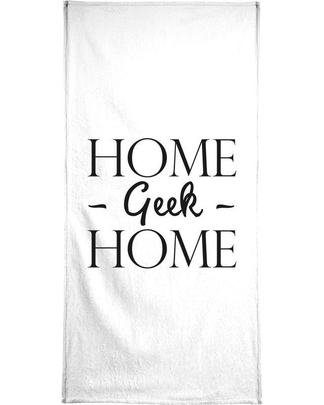 Home Geek Home serviette de bain