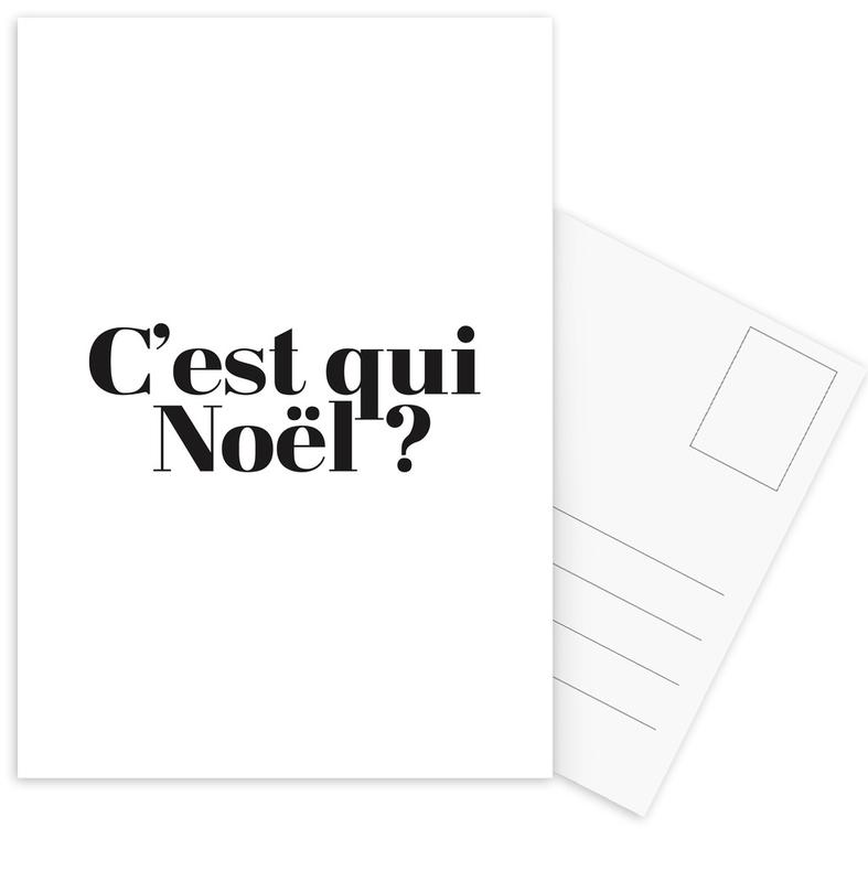 Noel? -Postkartenset