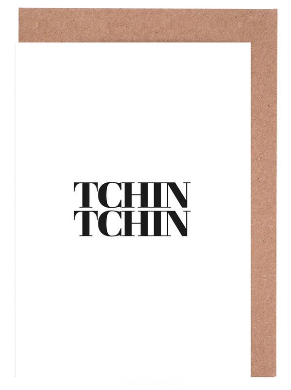Tchin Tchin -Grußkarten-Set
