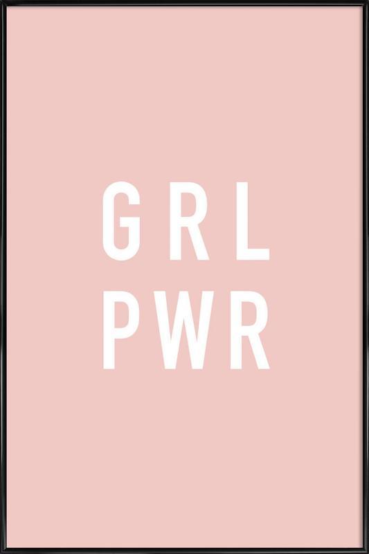 GRL -Bild mit Kunststoffrahmen