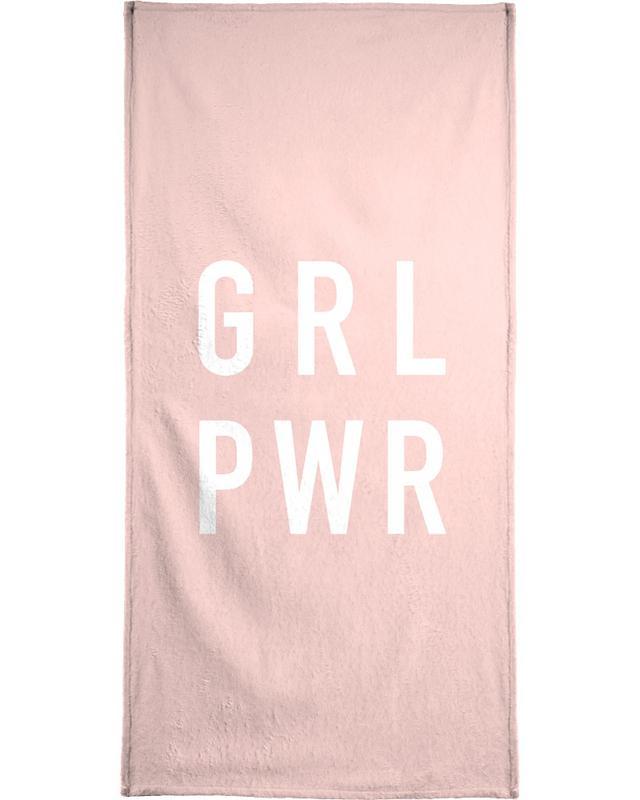 GRL serviette de plage