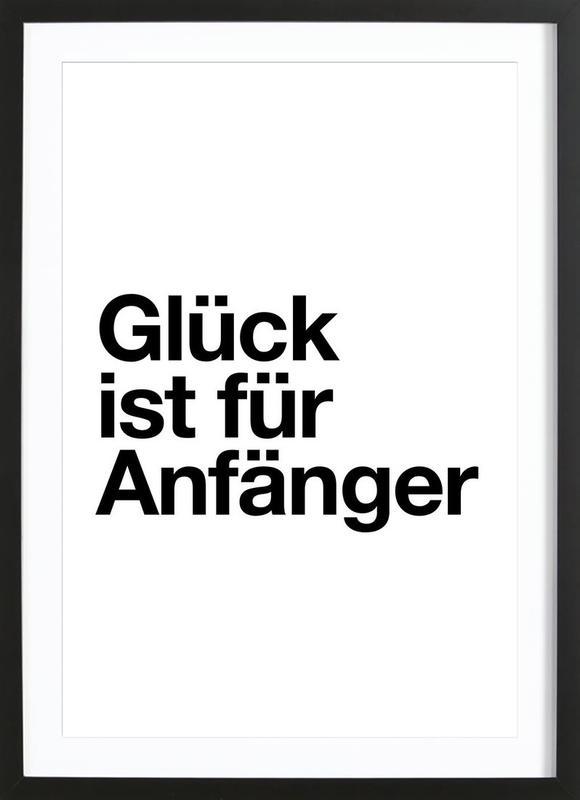 Glück Poster i träram