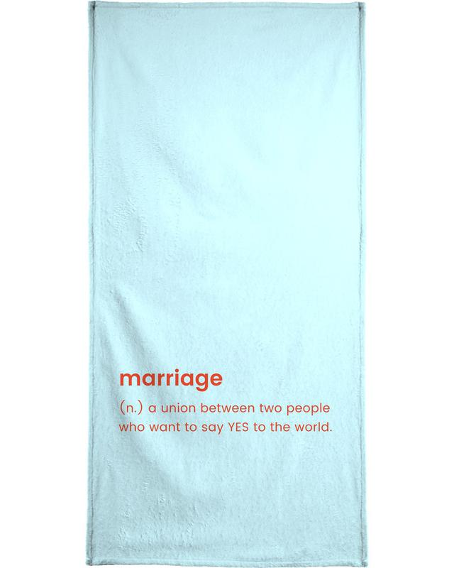 For Newlyweds Bath Towel
