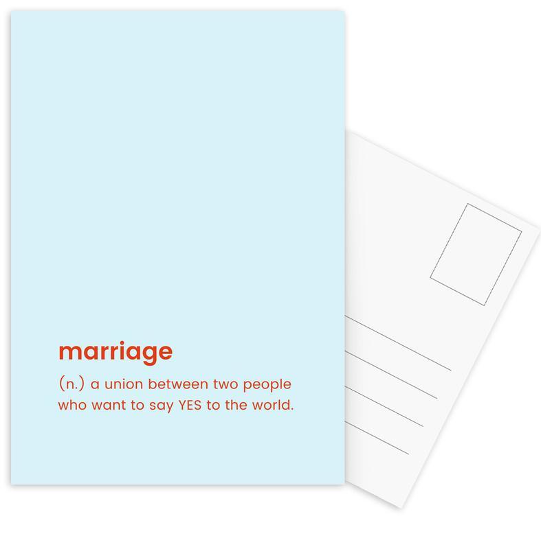 For Newlyweds Postcard Set