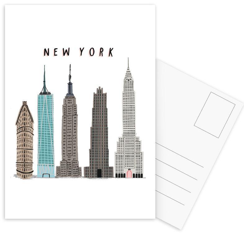 New York Buildings cartes postales