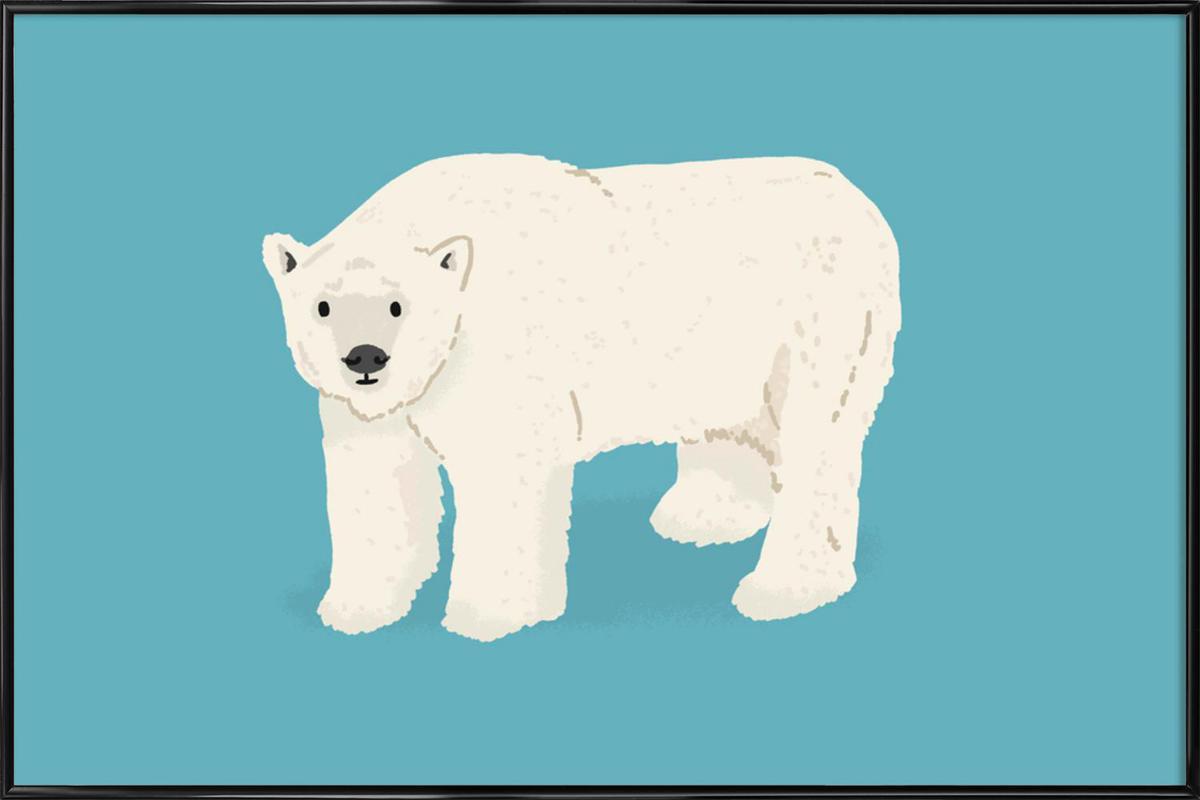 Polar Bear ingelijste poster