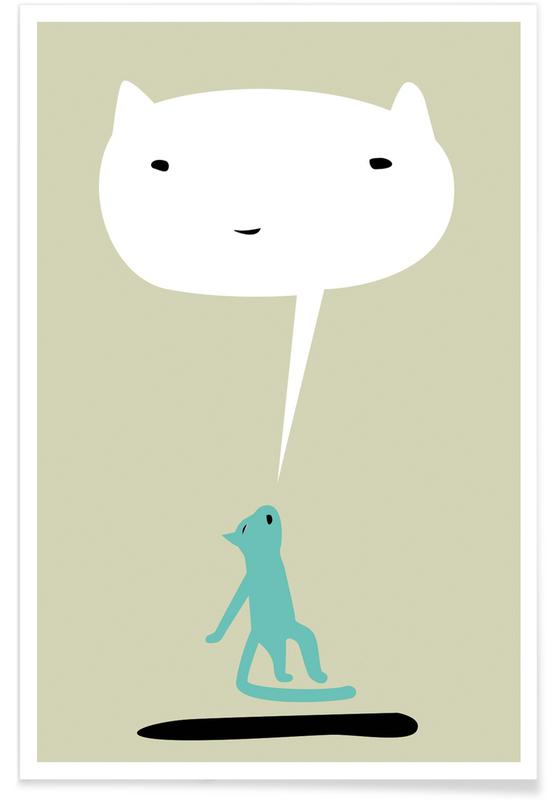 Cat Ghost Poster