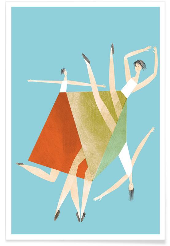 Dancing Blue -Poster