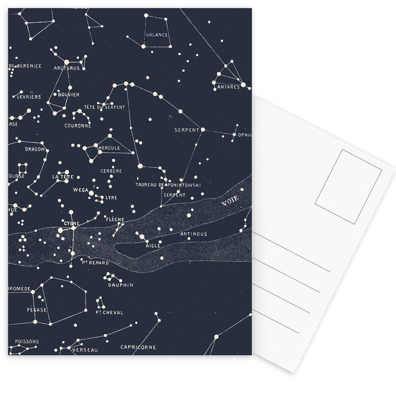 Carte du Ciel I cartes postales