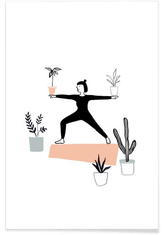 Yoga With Plants 02 Poster