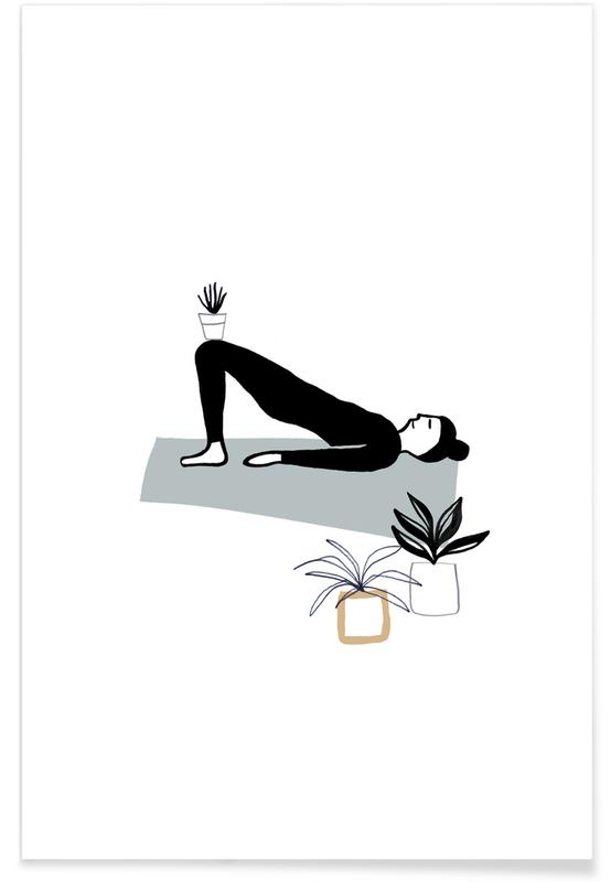 Yoga With Plants 03 -Poster