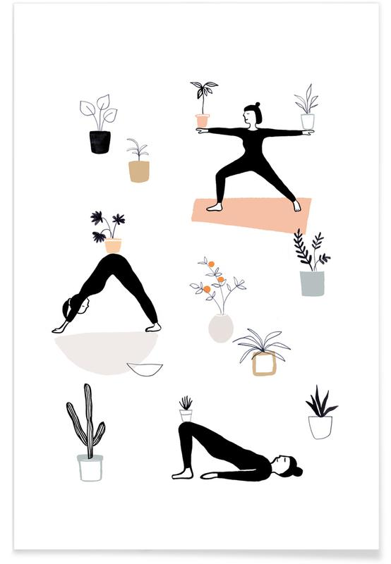 Yoga With Plants 04 affiche