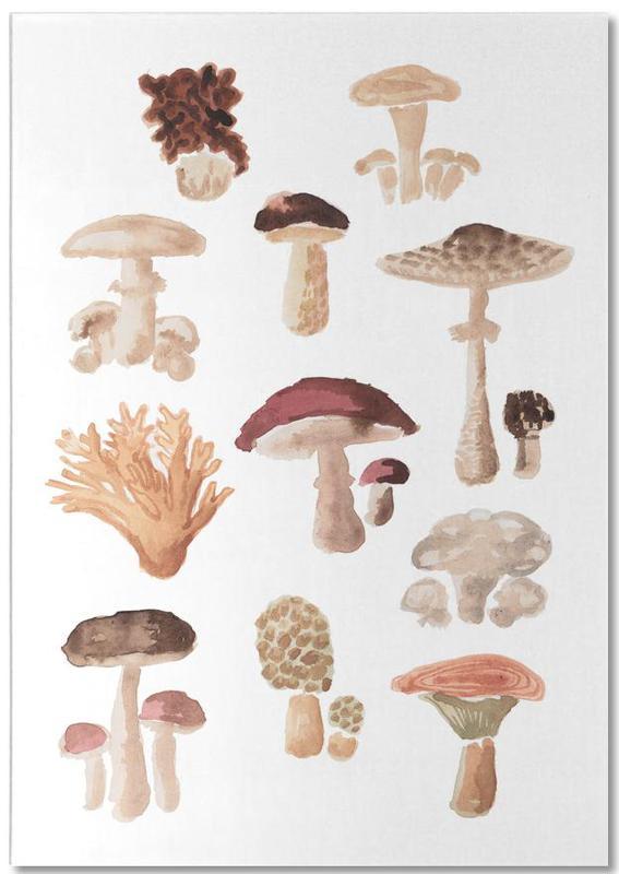 Mushrooms -Notizblock
