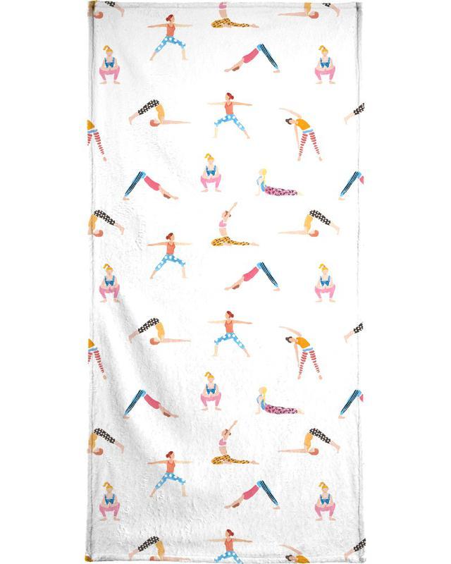 Yoga People serviette de bain