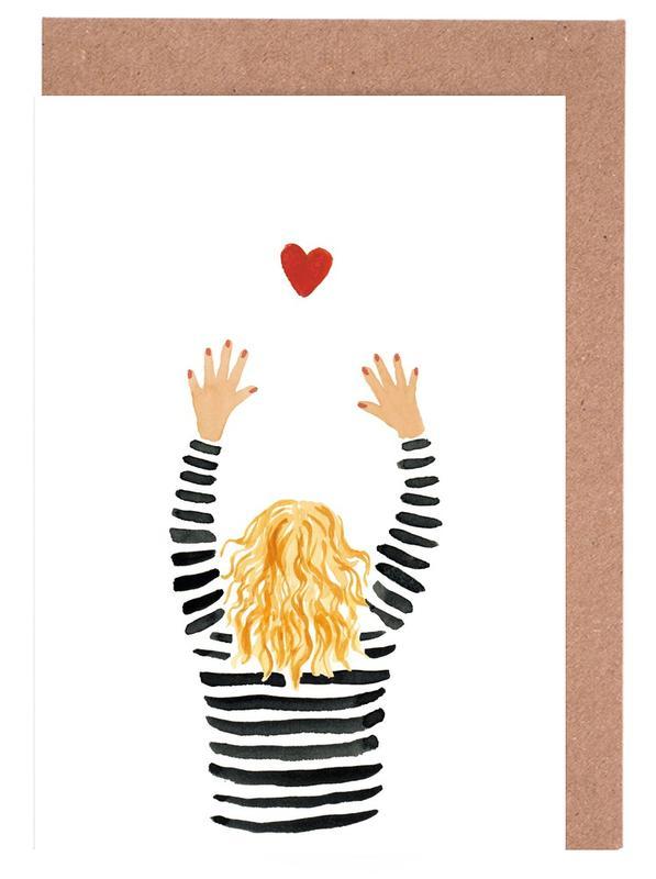 Love Catching Greeting Card Set