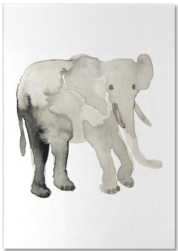 Elephant -Notizblock