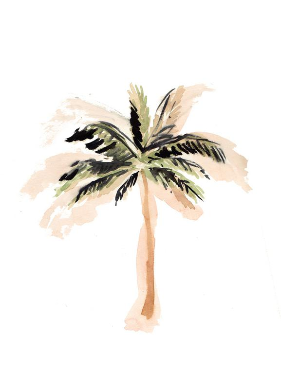 Palm Tree 3 toile