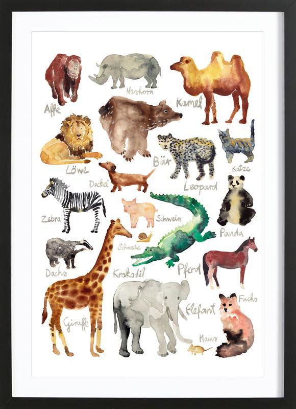 The Animal Kingdom Framed Print