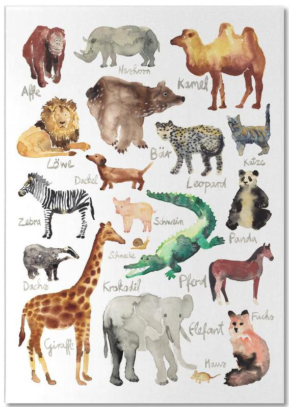 The Animal Kingdom -Notizblock