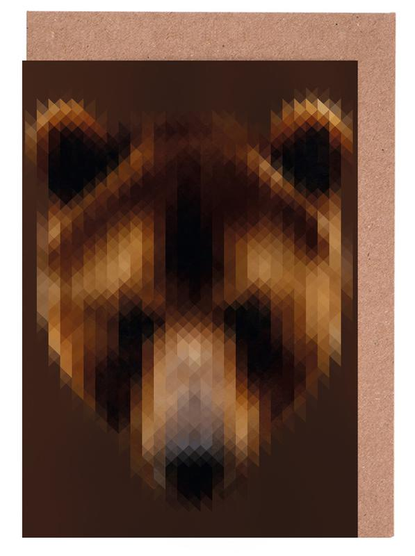 Bear Greeting Card Set