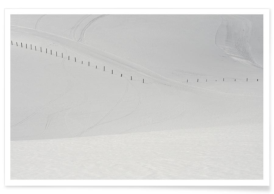 Lines in the Snow -Poster