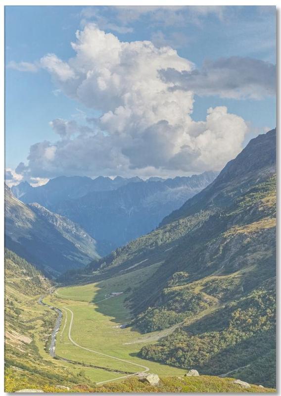 Swiss Valley -Notizblock