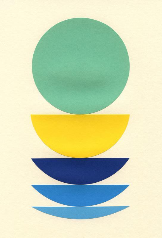 Five Circles -Alubild