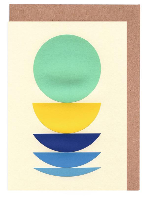Five Circles -Grußkarten-Set