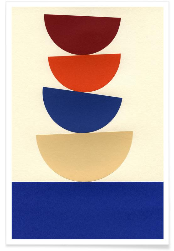 Four Bowls -Poster