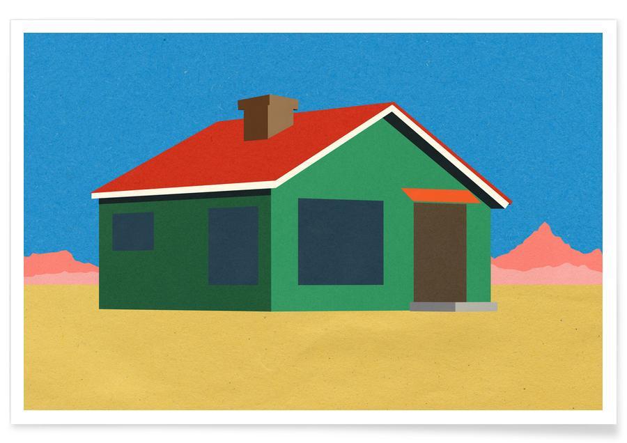 Joshua Tree House -Poster