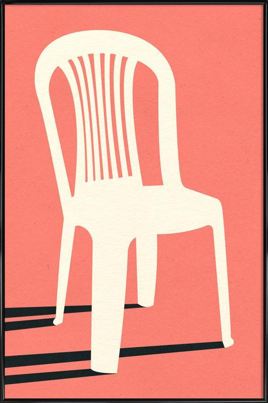 Monobloc Plastic Chair No I -Bild mit Kunststoffrahmen