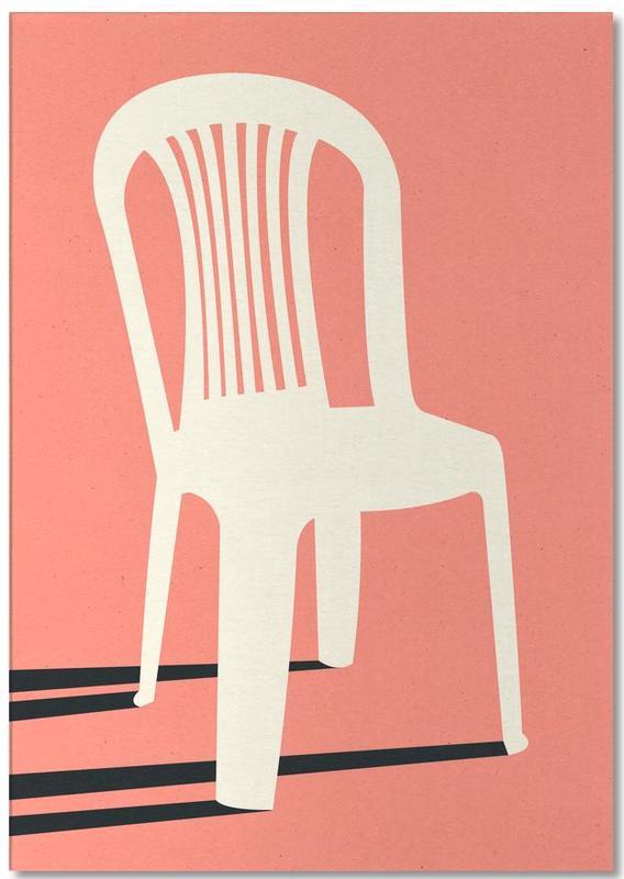 Monobloc Plastic Chair No I -Notizblock