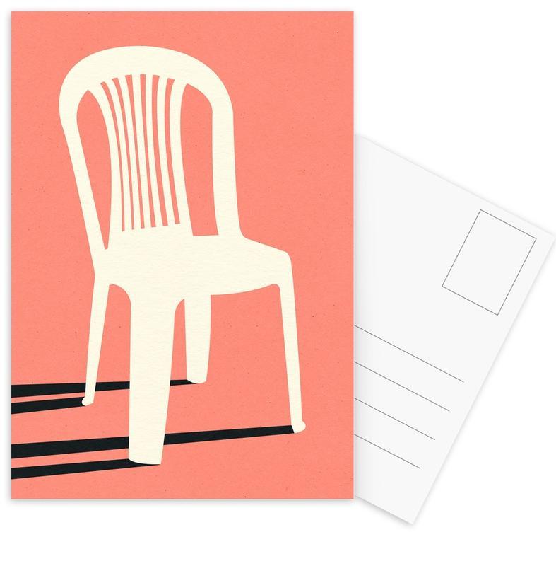Monobloc Plastic Chair No I -Postkartenset