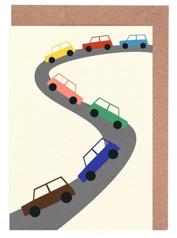 Traffic -Grußkarten-Set