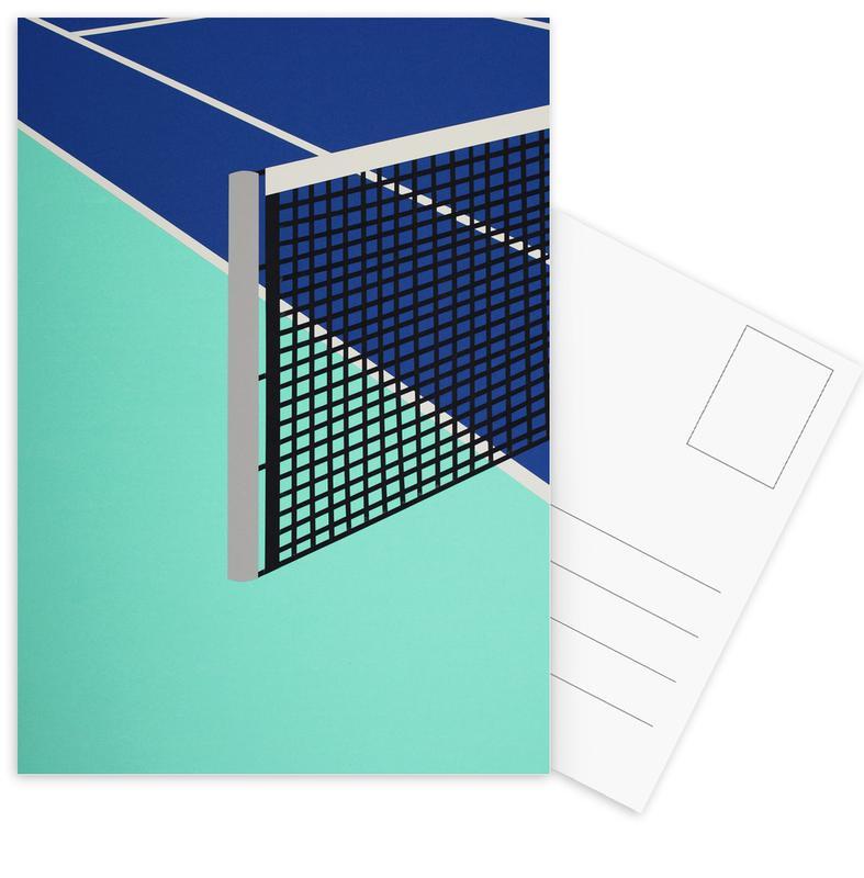 Arizona Tennis Club -Postkartenset