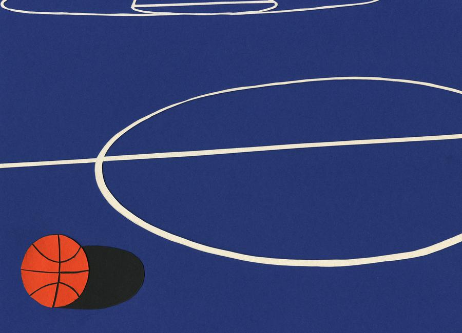 Oakland Basketball Team II -Leinwandbild