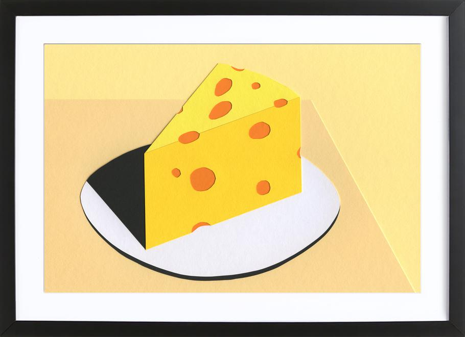 Piece Of Cheese Framed Print