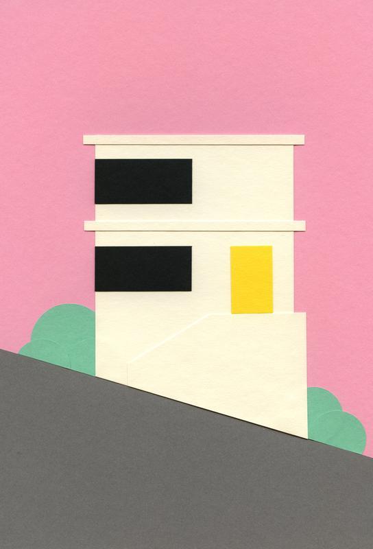 San Francisco Hill House Acrylic Print