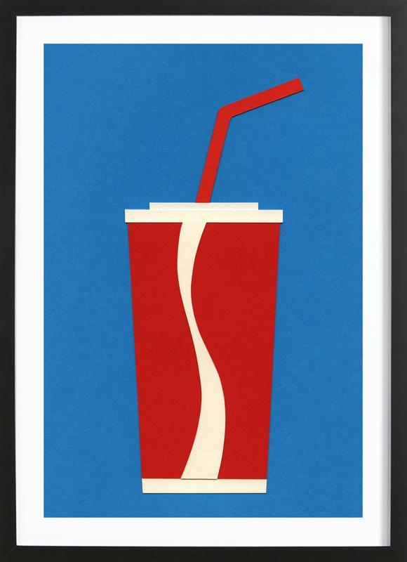 Cup of Coke Framed Print